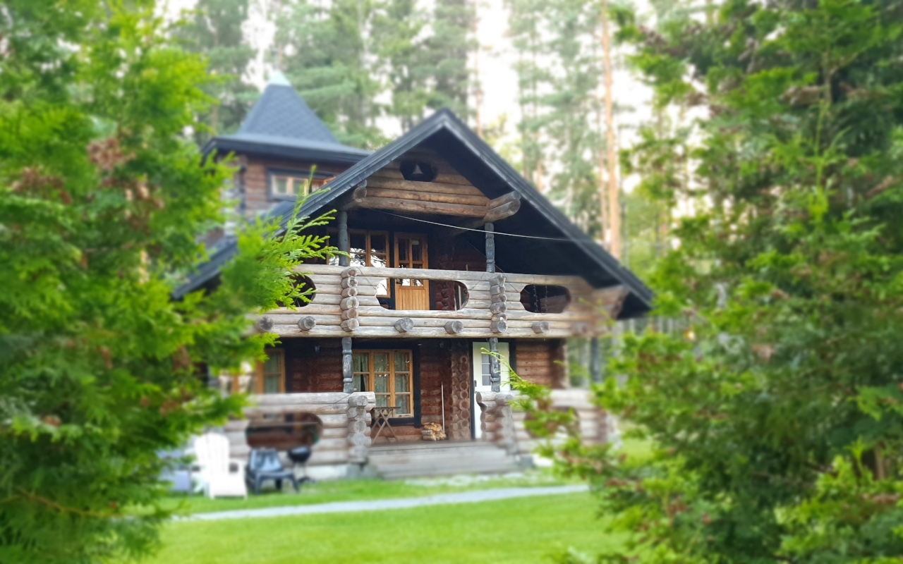 Luxury in the woods