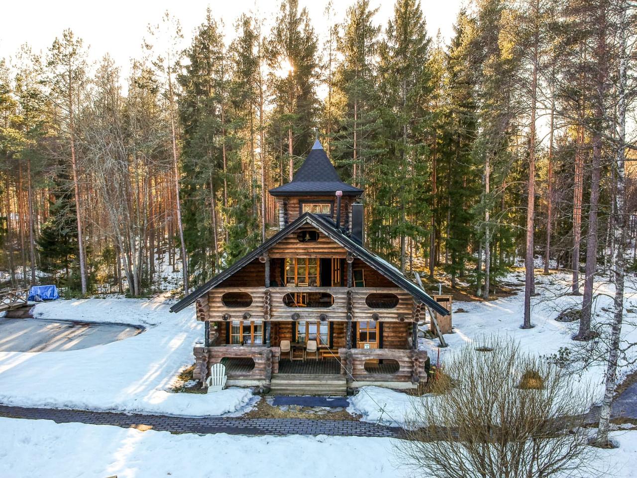Villa Irene cottage in winter